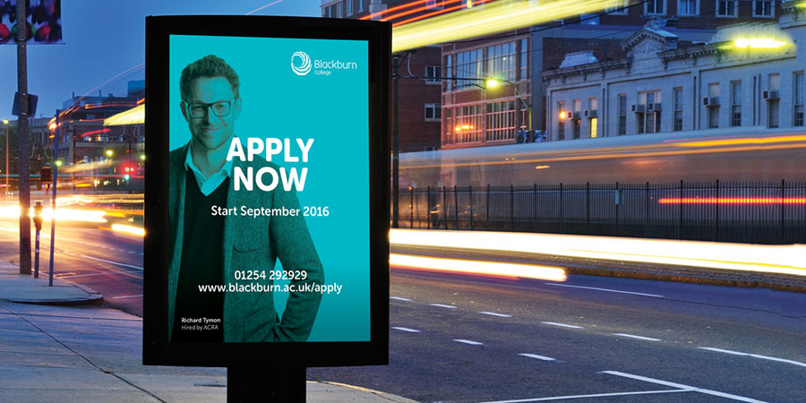 clearing campaign design for blackburn college university