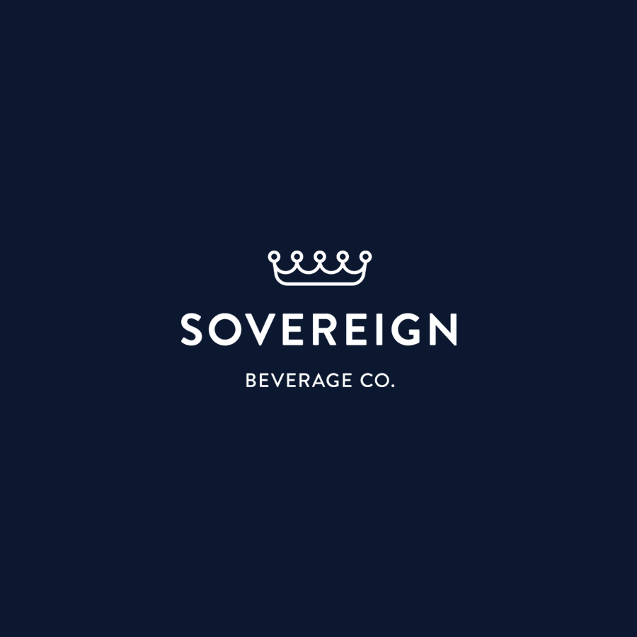 branding identity and design for Sovereign Beverage Company