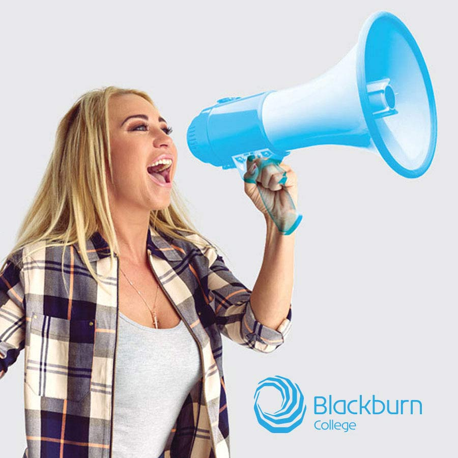 advertising campaign design for blackburn college university